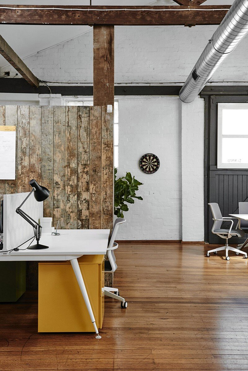 An inspiring workplace by we are huntly studio for Innovative home designs and marketing