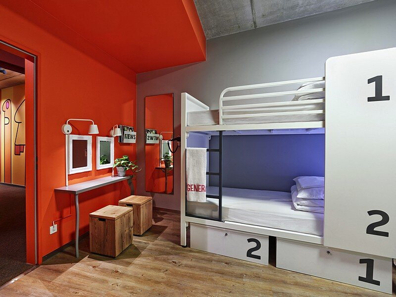 generator berlin mitte hostel distinctive and eclectic urban design. Black Bedroom Furniture Sets. Home Design Ideas