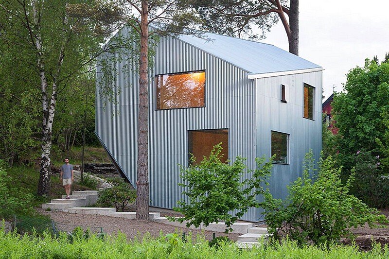 Happy Cheap House – a Low Cost Prefab Home by Tommy Carlsson Arkitektur