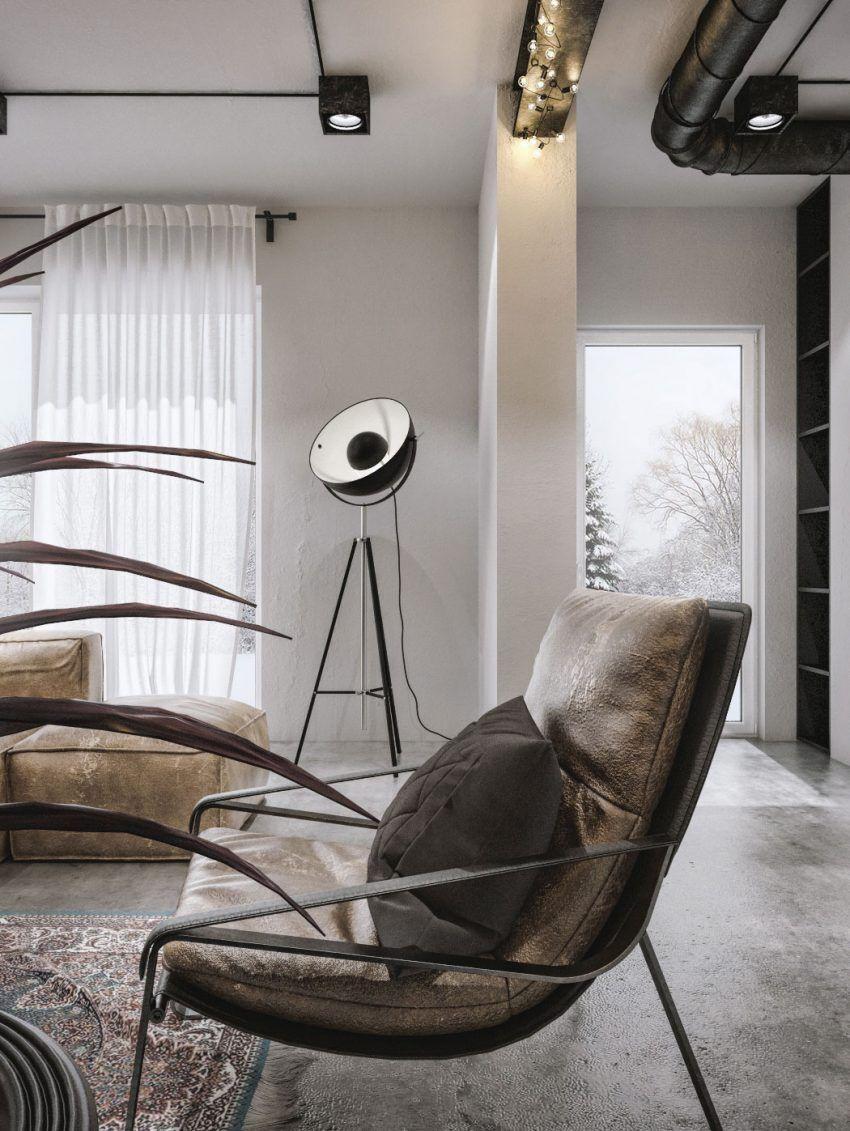 Modern Loft Interior Design 1