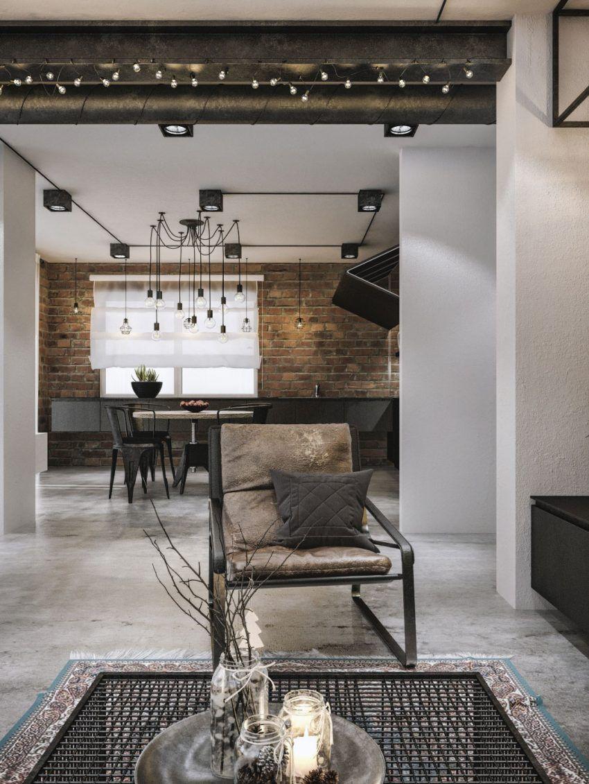 Modern Loft Interior Design 2