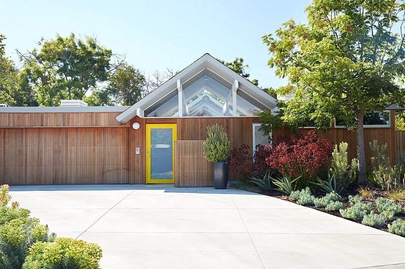Mountain View Double Gable Eichler Remodel 21