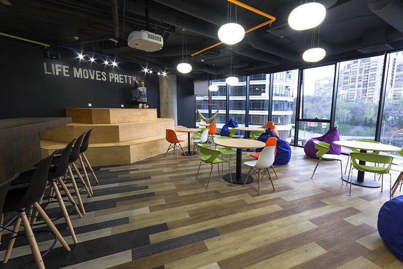 OLX Office in Kiev / Design Hub International