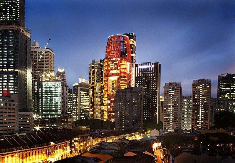 Oasia Hotel Downtown Singapore WOHA 7