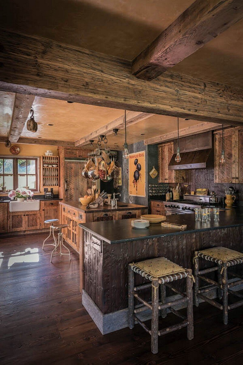 Tall pony ranch by miller architects - Beautiful bar ideas ...
