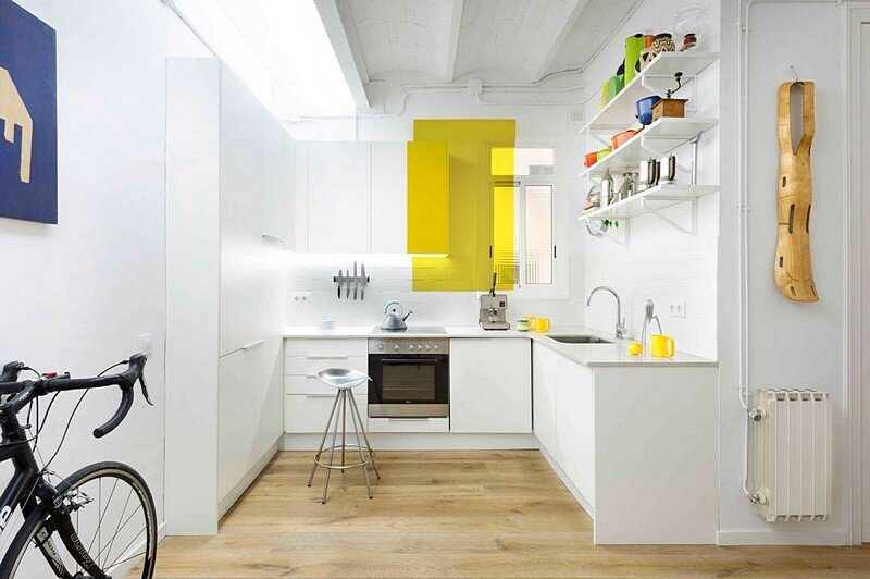 The Furnished Void Apartment in Eixample, Barcelona / Egue y Seta