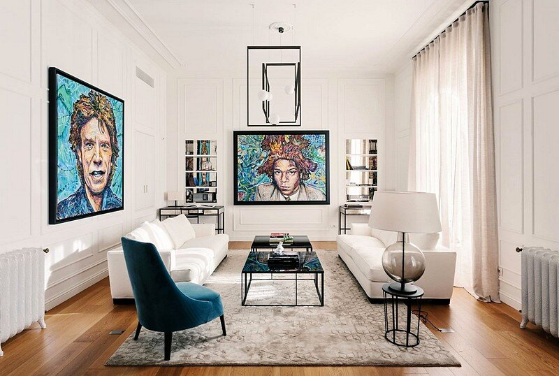 Apartment P in Milan 1