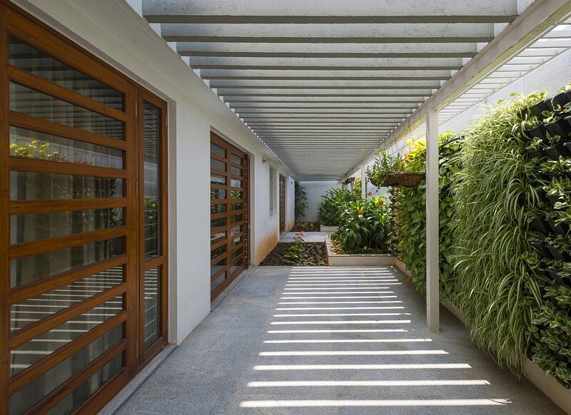 Bangalore Courtyard House 13
