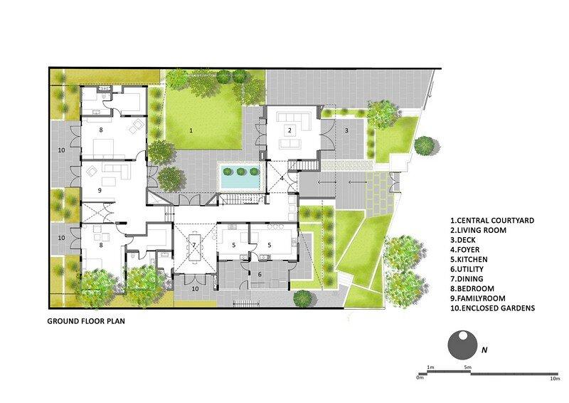 Bangalore Courtyard House 16