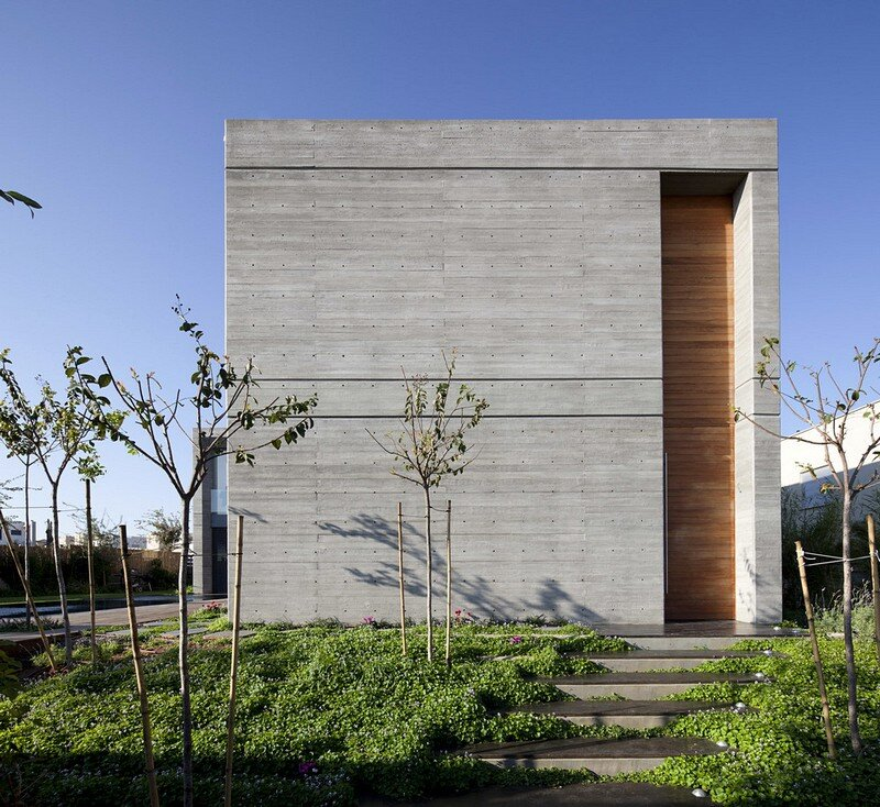 Modern Concrete House 1