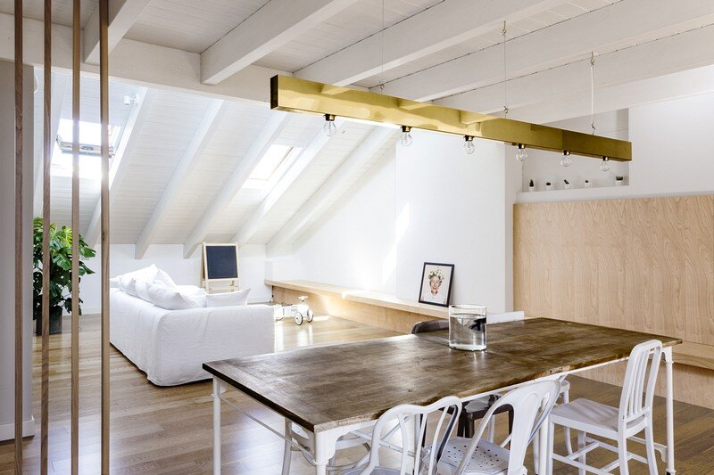 Emme Elle Attic Apartment / Archiplan Studio