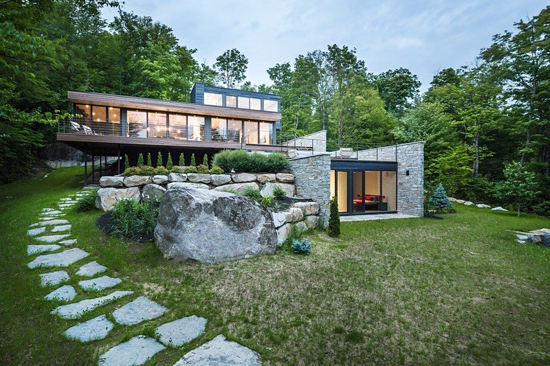 Estrade Residence, Quebec / MU Architecture