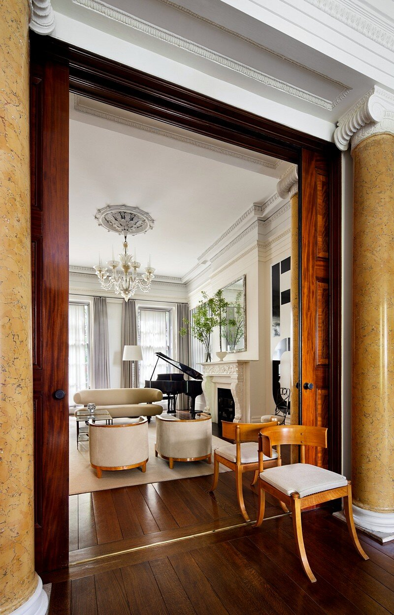 Greenwich Village Greek Revival Townhouse 2