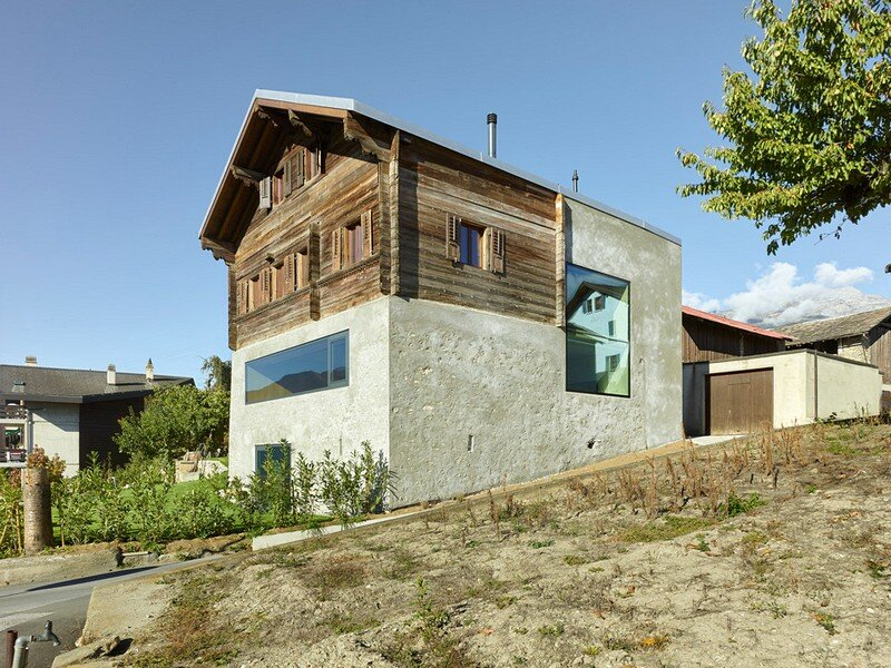 Reynard Rossi-Udry House / Savioz Fabrizzi Architectes
