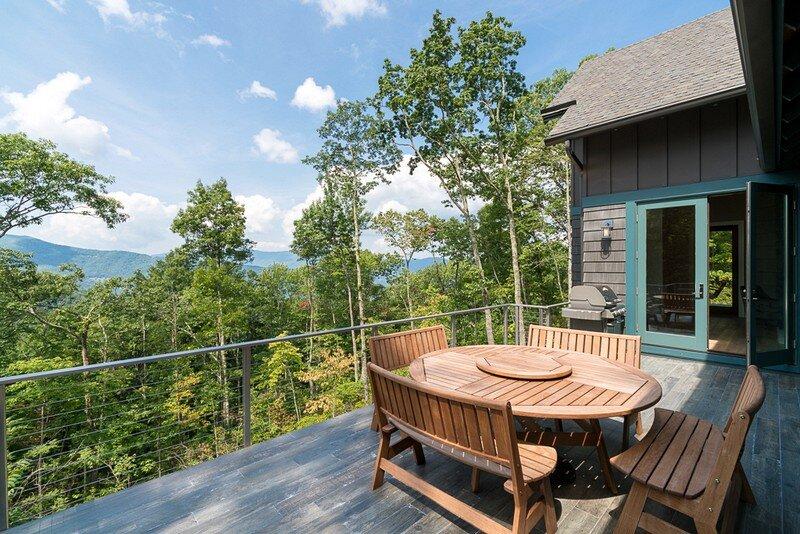 Waynesville Mountain Modern Craftsman House 20