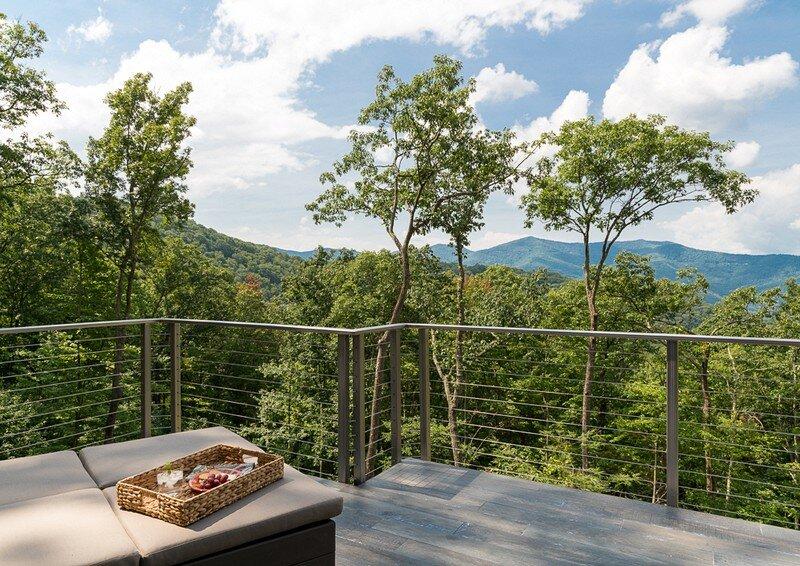 Waynesville Mountain Modern Craftsman House 23