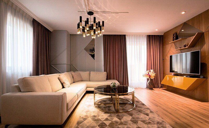 An Elegant Contemporary Style Apartment, The Park Residential Complex