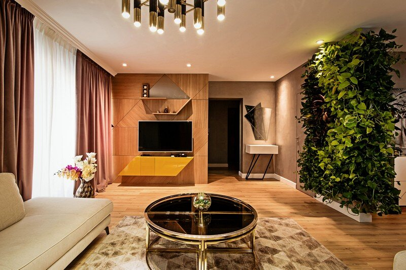 An Elegant Contemporary Style Apartment, The Park Residential Complex 1