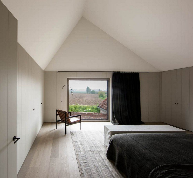 Flemish Rural Architecture – House in Zwevegem by Vincent Van Duysen