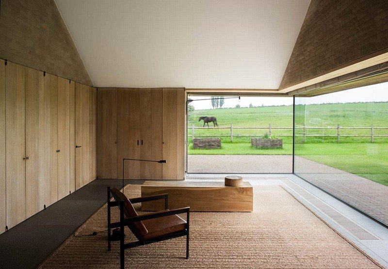 Flemish Rural Architecture House In Zwevegem By Vincent