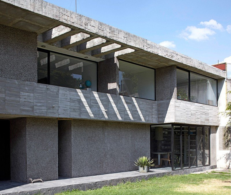 Mexico City Concrete Home