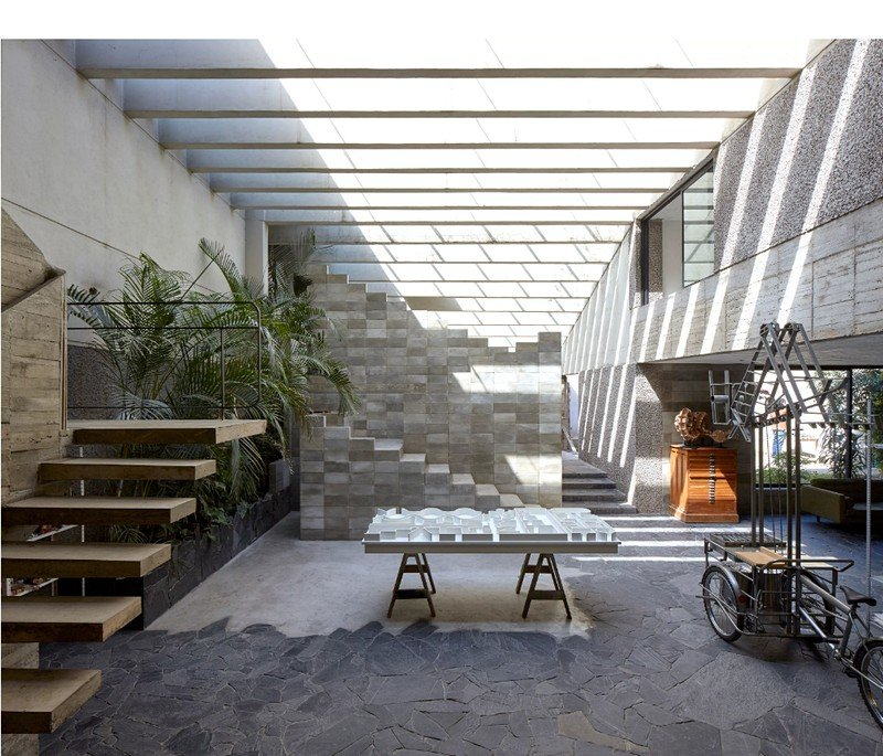Mexico City Concrete Home 7