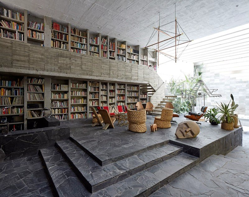 Mexico City Concrete Home 1