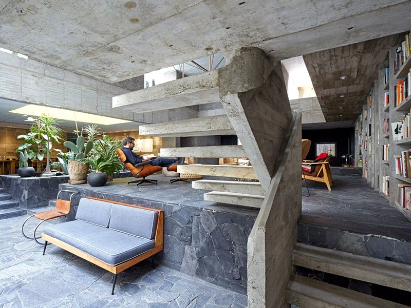 Mexico City Concrete Home 6