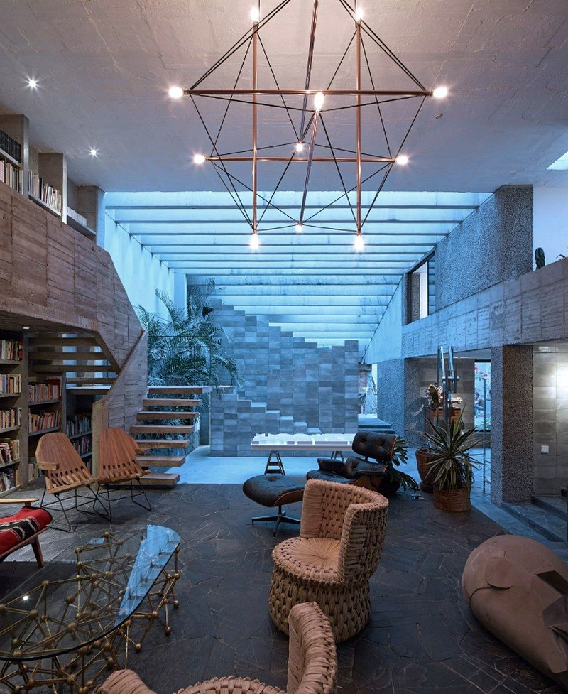 Mexico City Concrete Home 15