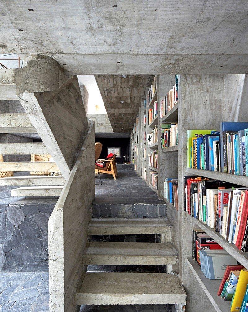 Mexico City Concrete Home 5