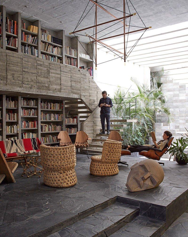 Mexico City Concrete Home Pedro Reyes And Carla Fernandez