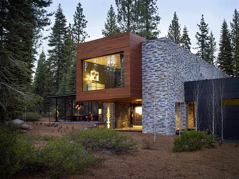 Modern Tahoe Mountain Retreat Jamie Bush & Co