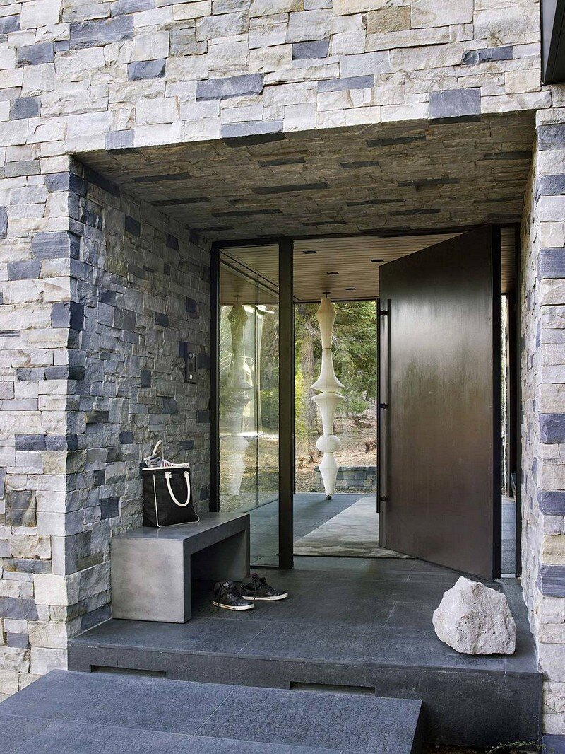 Modern Tahoe Mountain Retreat Jamie Bush & Co 1