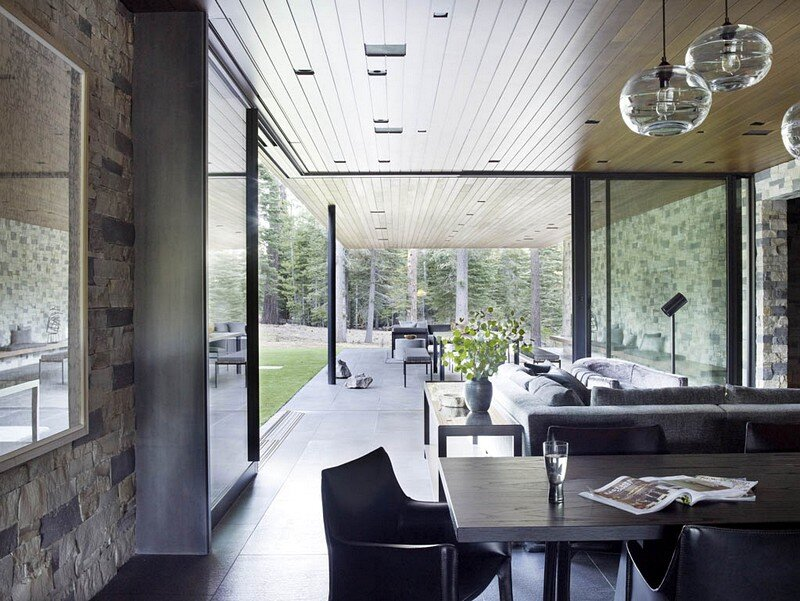 Modern Tahoe Mountain Retreat Jamie Bush & Co 4