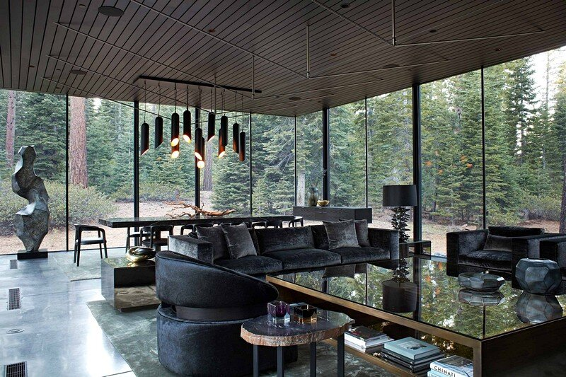 Modern Tahoe Mountain Retreat Jamie Bush & Co 3