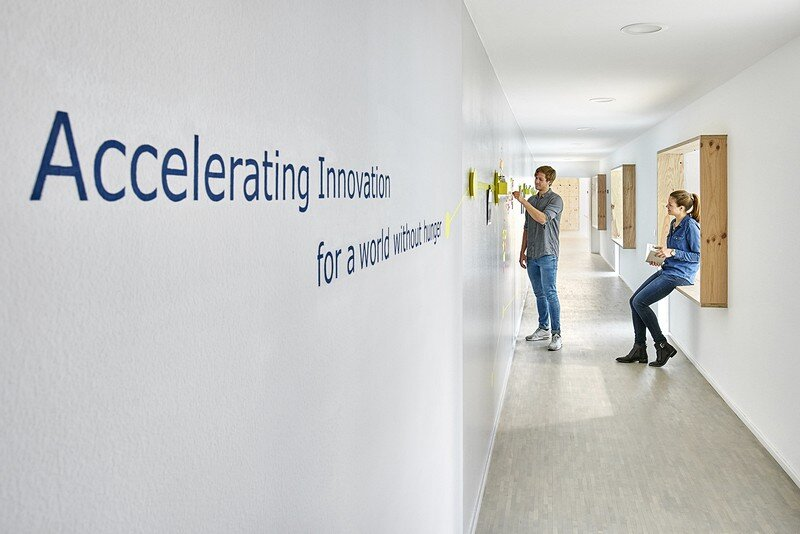 New Offices of Non-Profit Organization WFP Innovation Accelerator INpuls