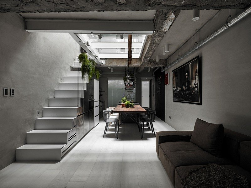 Old Three Story Townhouse Renovated In Taipei Kc Design