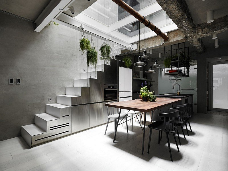 Old Three-Story Townhouse Renovated in Taipei 6