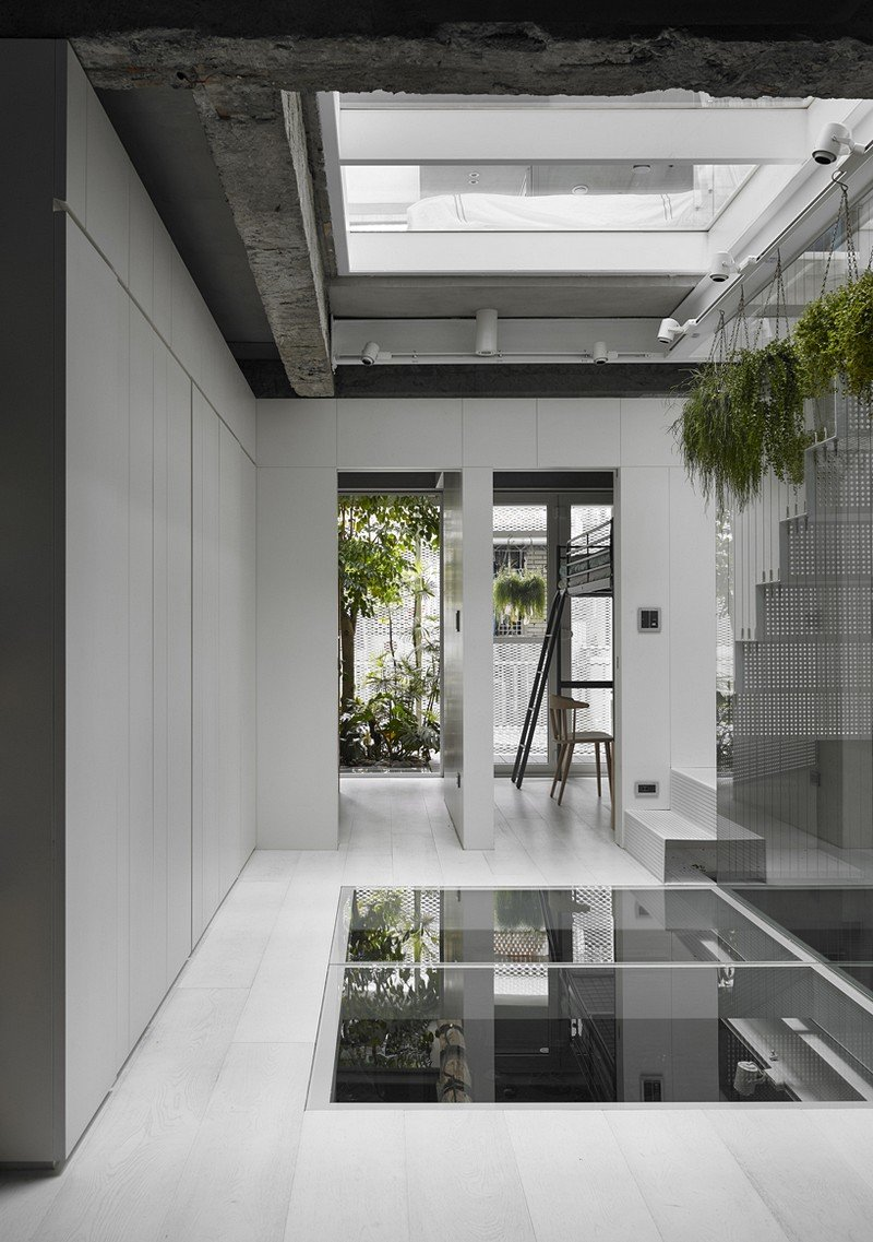 Old three story townhouse renovated in taipei kc design - Make your house a home ...