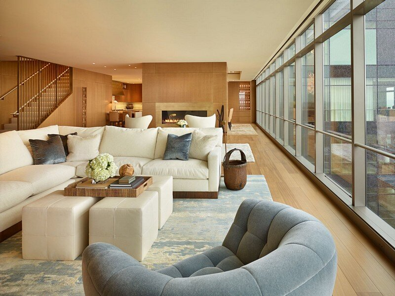 Private penthouse in seattle by nb design group - Restaurant interior design seattle ...