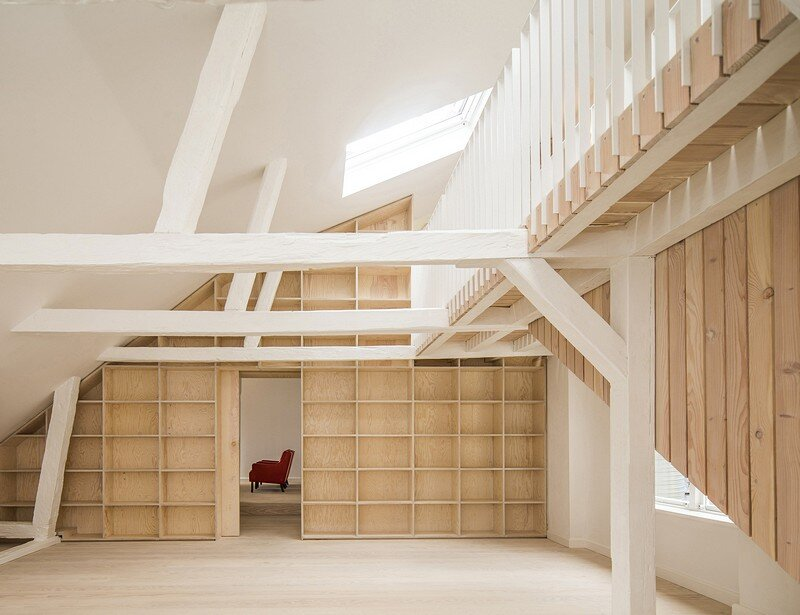 Studiomama Completes Renovation of Apartments in 1720s House in Stockholm's Old Town