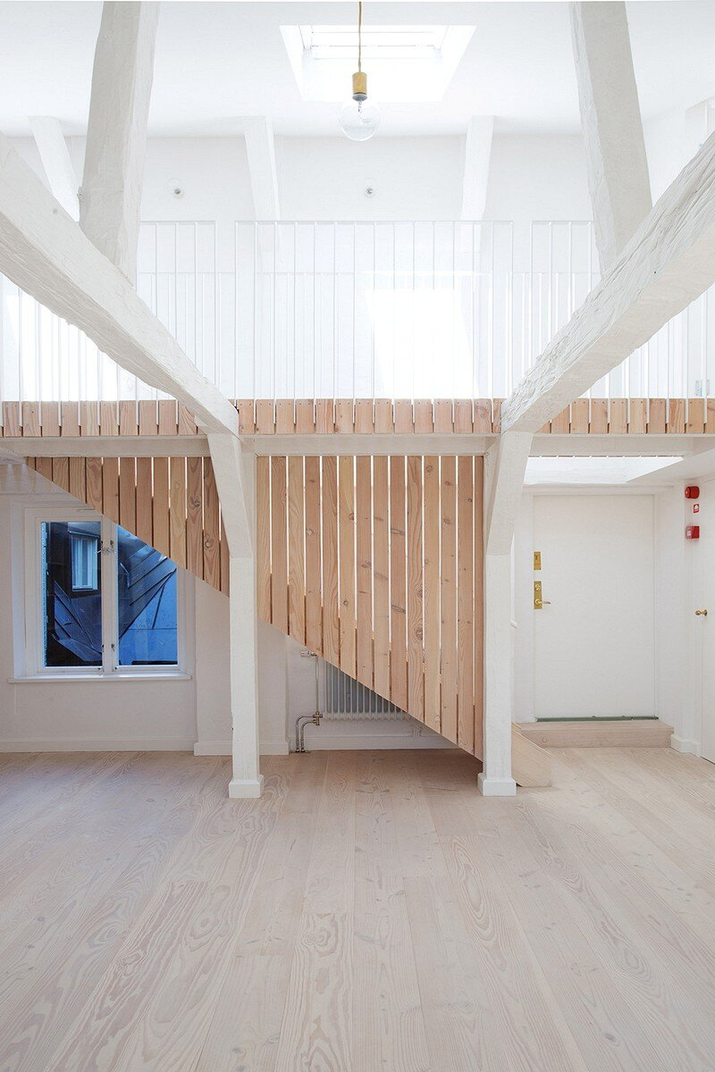 Studiomama Completes Renovation of Apartments in 1720s House 12