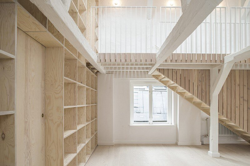 Studiomama Completes Renovation of Apartments in 1720s House 1