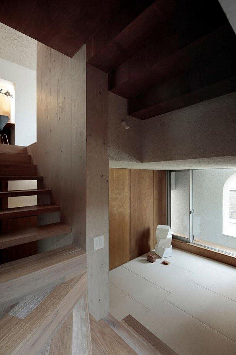 Tokyo City House / Id + Fr Architecture 11