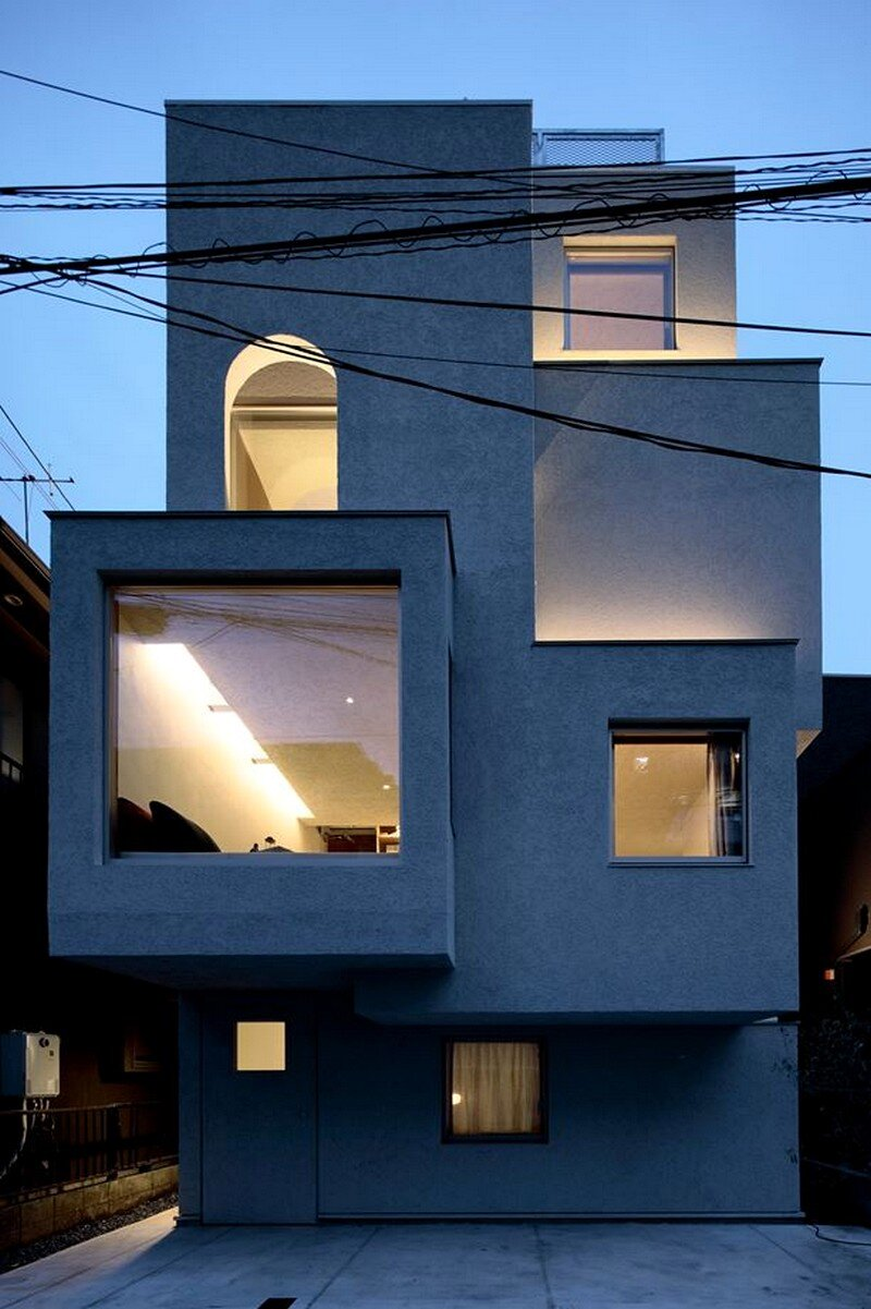Tokyo City House / Id + Fr Architecture 16