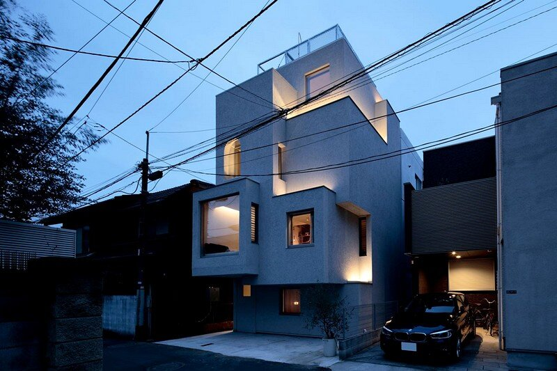 Tokyo City House / Id + Fr, Fujii Lab, Satoshi Numanoi