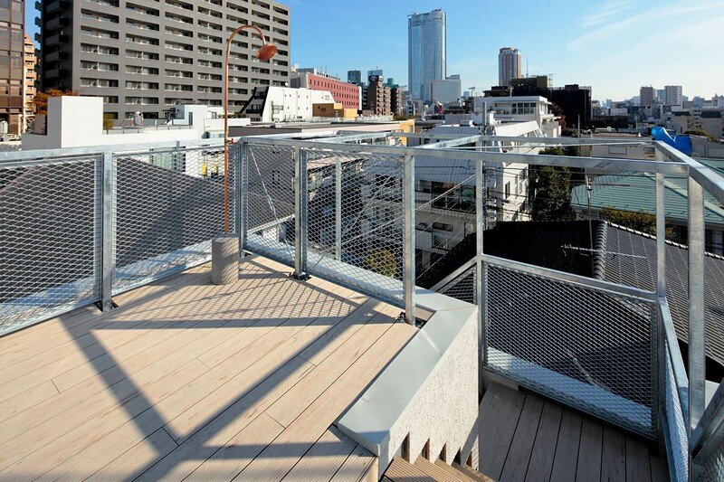 Tokyo City House / Id + Fr Architecture 15