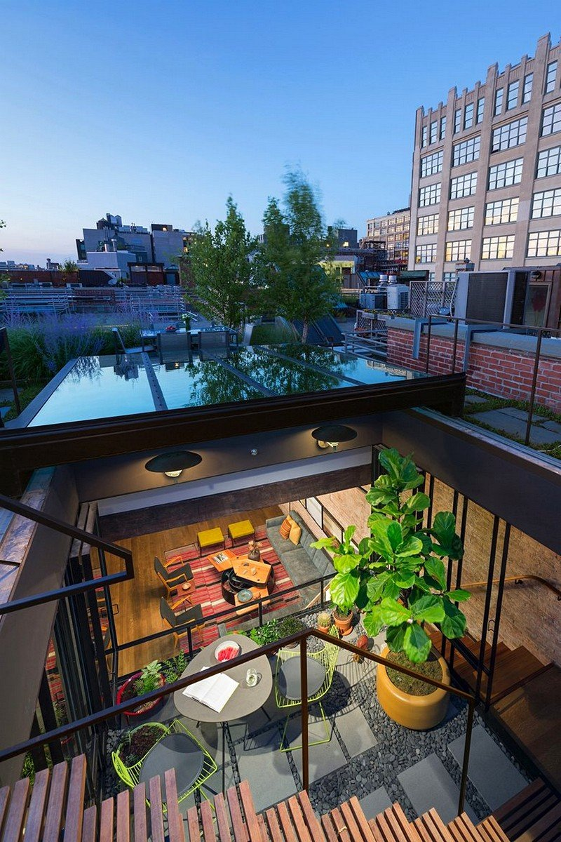 Tribeca North Loft Andrew Franz Architect 12