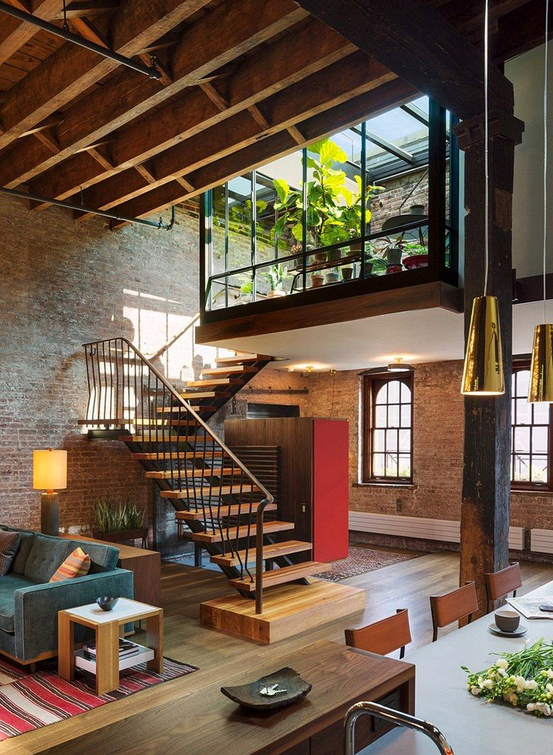 Tribeca North Loft Andrew Franz Architect 1