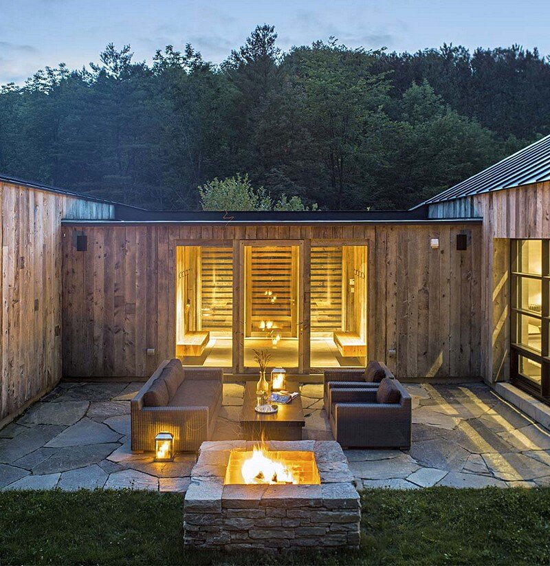 Woodshed Vermont Guest House Birdseye Design 1